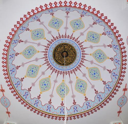 Cami Nakışı - Nakkaş- Cami süsleme (1)