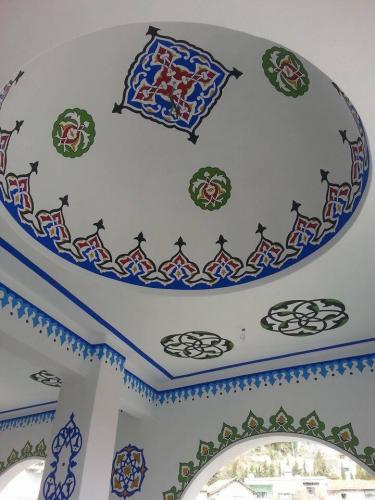 Cami Nakışı - Nakkaş- Cami süsleme (10)