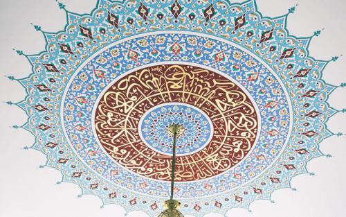 Cami Nakışı - Nakkaş- Cami süsleme (13)