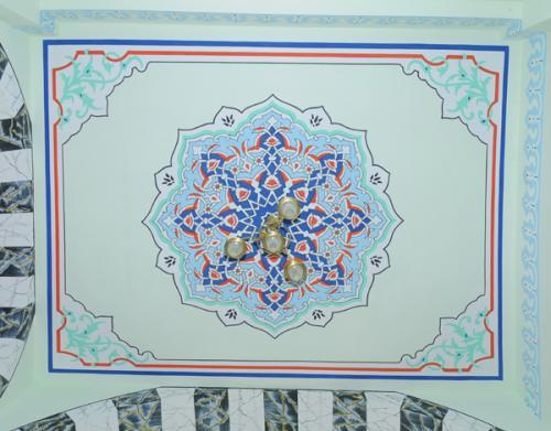 Cami Nakışı - Nakkaş- Cami süsleme (2)