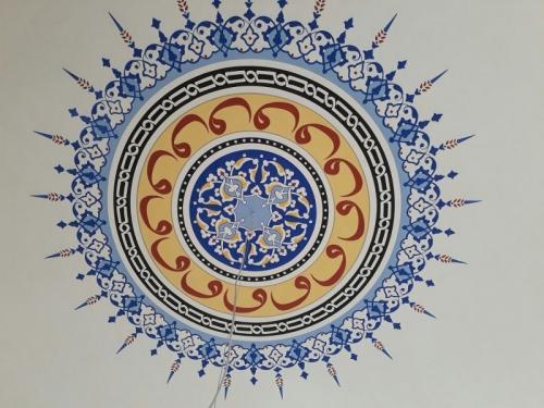 Cami Nakışı - Nakkaş- Cami süsleme (4)