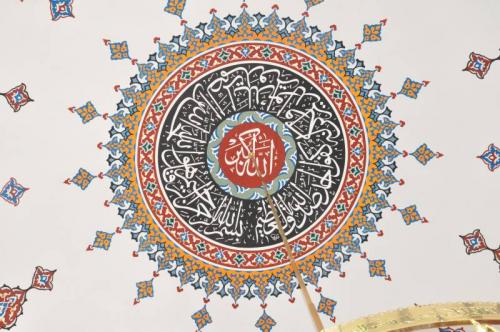 Cami Nakışı - Nakkaş- Cami süsleme (7)